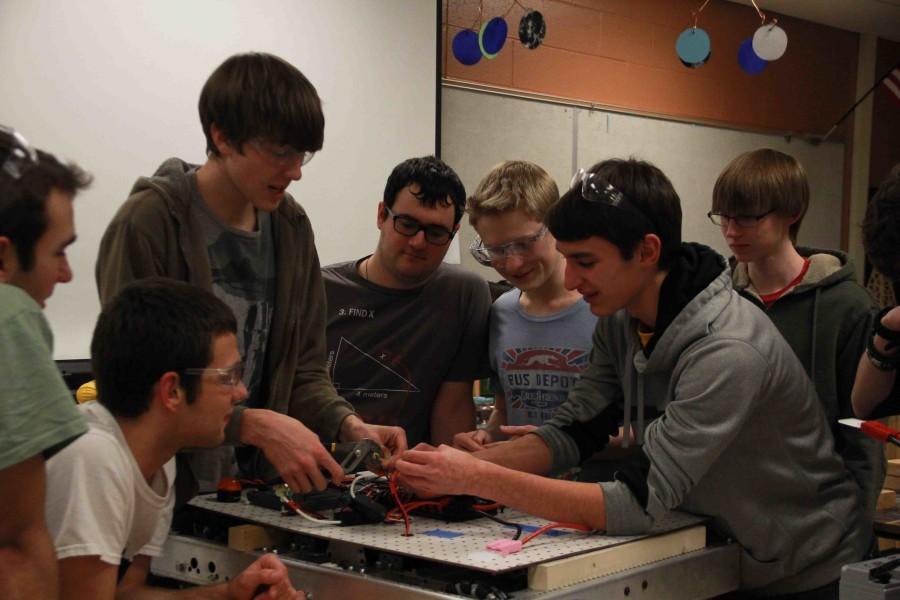 Fenton's Robotics team's competition season begins