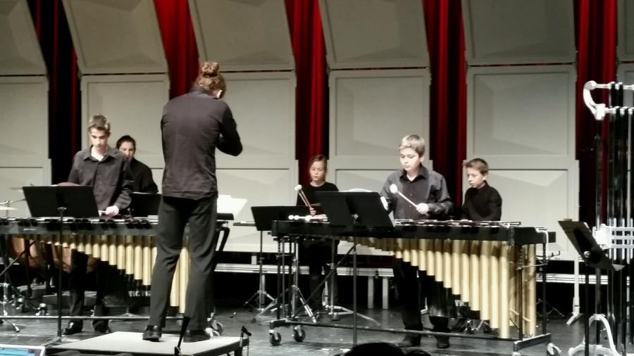 French jazz band plays for the community during their visit to the US
