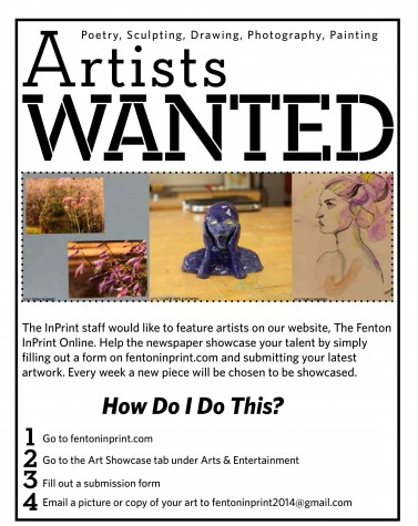 Artists Wanted