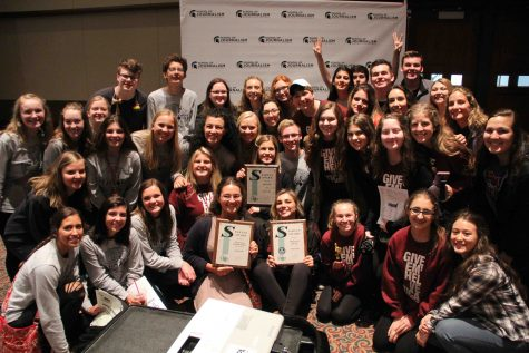 FHS publications and multimedia staffs take home individual awards and three Spartan Awards