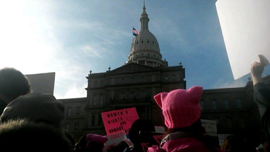 Fenton citizens participate in the Sister Marches located in Michigan