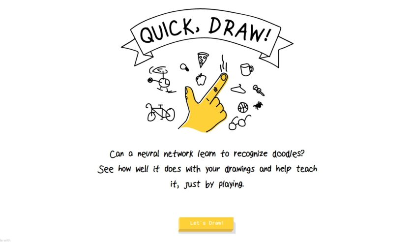 InPrint adviser introduces Google Quick, Draw! to her classroom