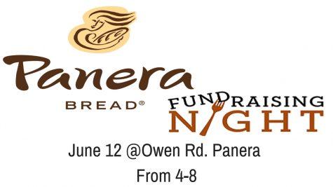 Panera Bread Fundraising Night June 12