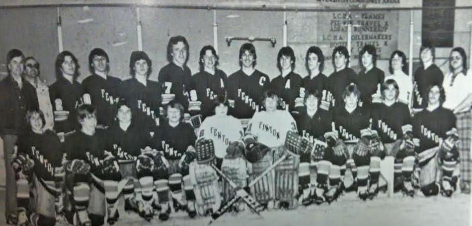 Fenton High's 1980 Metro League Championship winning team.