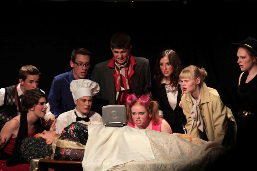 IB Theater performed  'The Murder Mystery'  this past Wednesday. It served as an IB showcase for their last performance of the year.