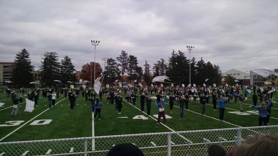 Marching band takes trip to MSU