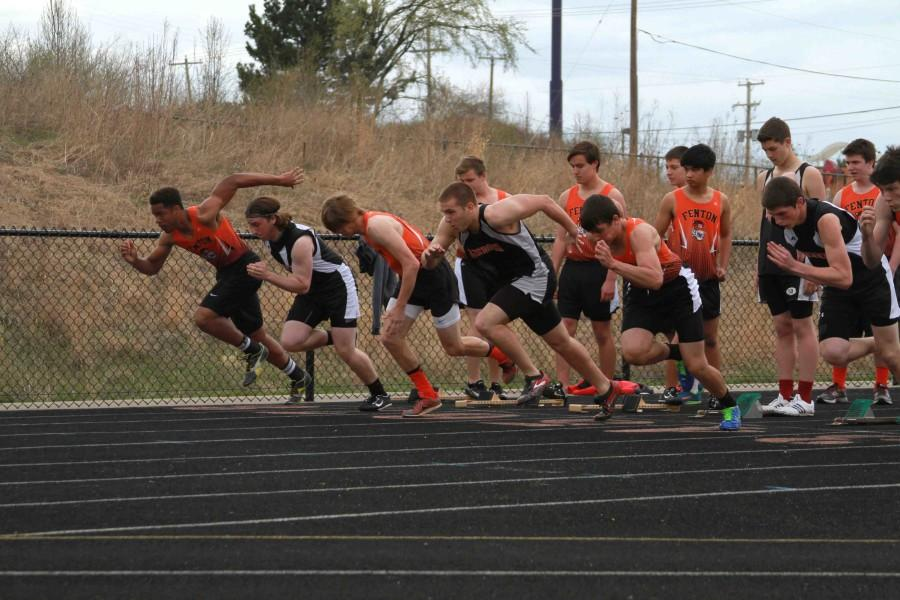 Boy's Track team falls flat in competition against Linden