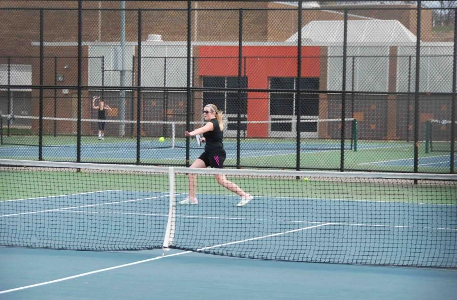 JV Tennis loses to Bloomfield Marian, 0-8