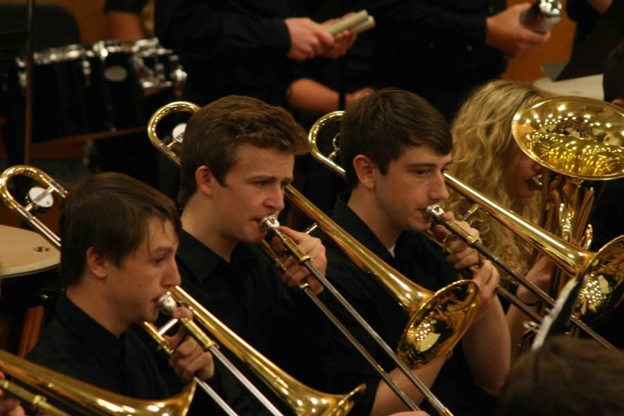 Band program puts on their final concert for the year