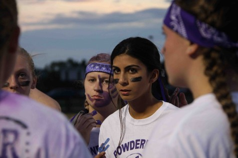 Seniors handle juniors 28-6 in annual powder-puff
