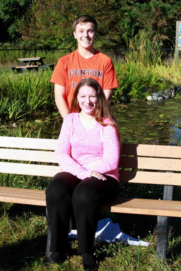 Sophomore Representatives  Edward Farrell and Katie Gauer