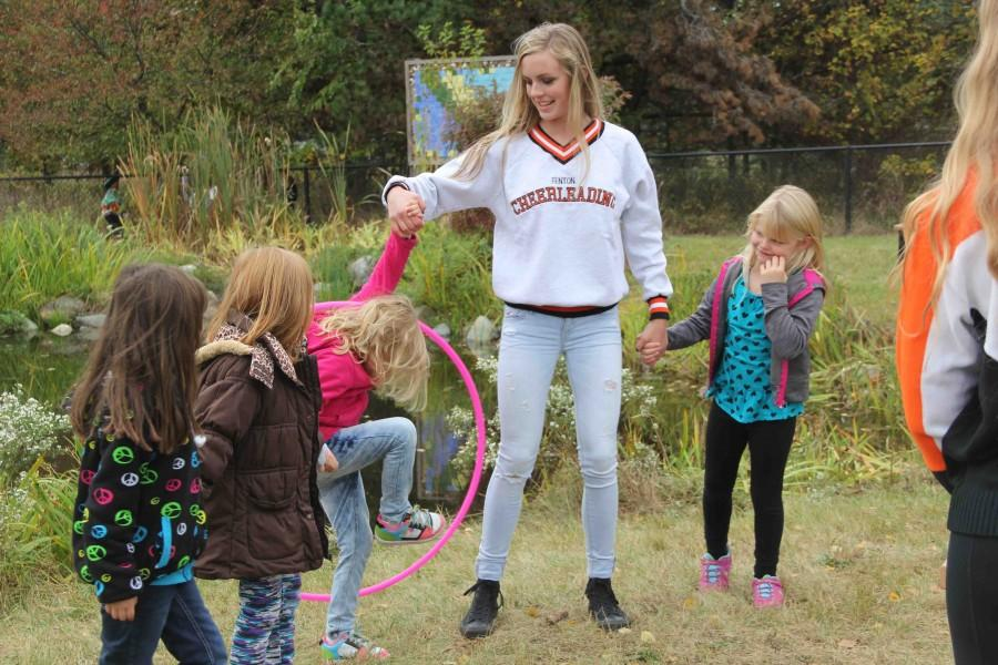 First graders visit for Pond Day