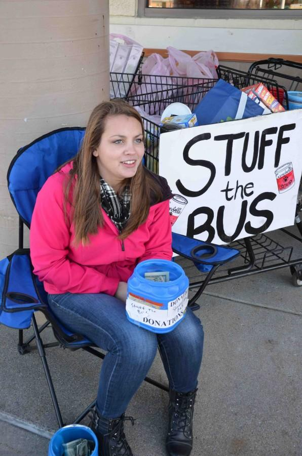 NHS hosts Stuff the Bus
