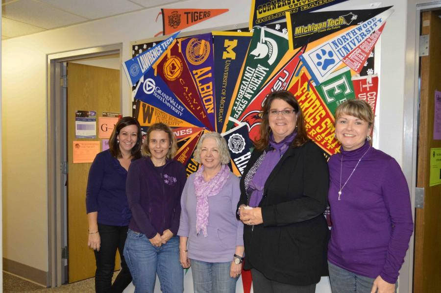 Purple Out Day organized by Student Council for pancreatic cancer