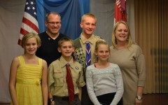 Noah Maier earns the rank of Eagle Scout as freshman