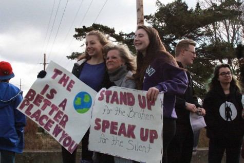 Students walk to make a difference