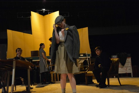 "IB theater holds the production of ""Diary of Anne Frank"""