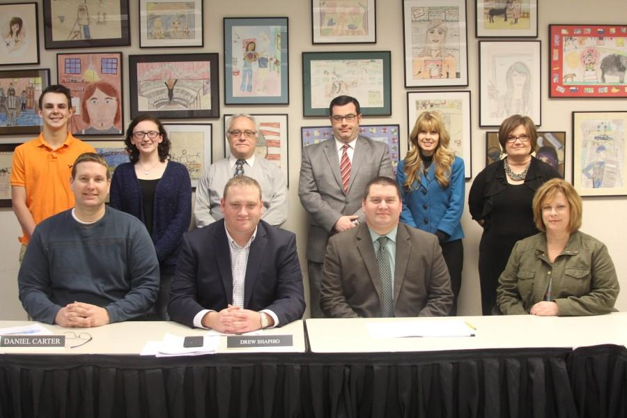The school board had a meeting on March 7, where student representative senior McKenzie Mead reported to the board members on what is going on at the high school.