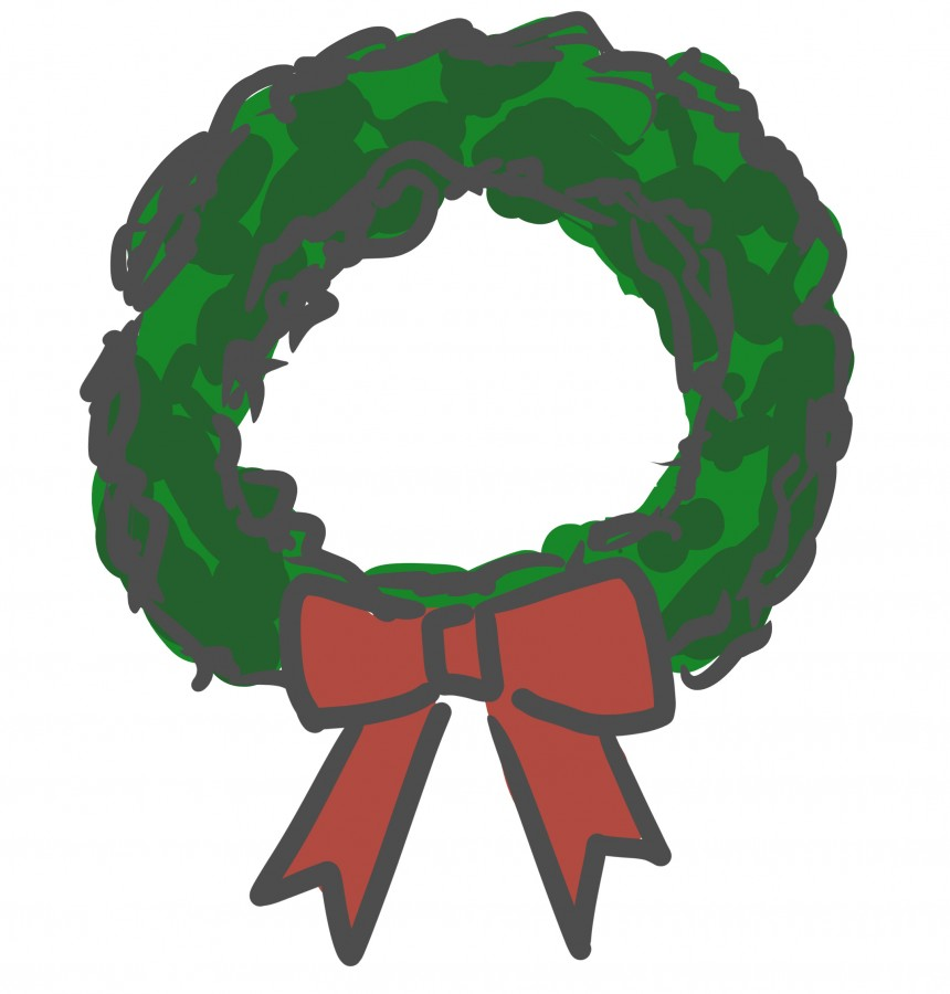 Ambassadors finish up their annual Christmas wreath sale