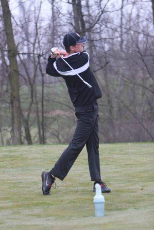 JV boys' golf first tournament of the season