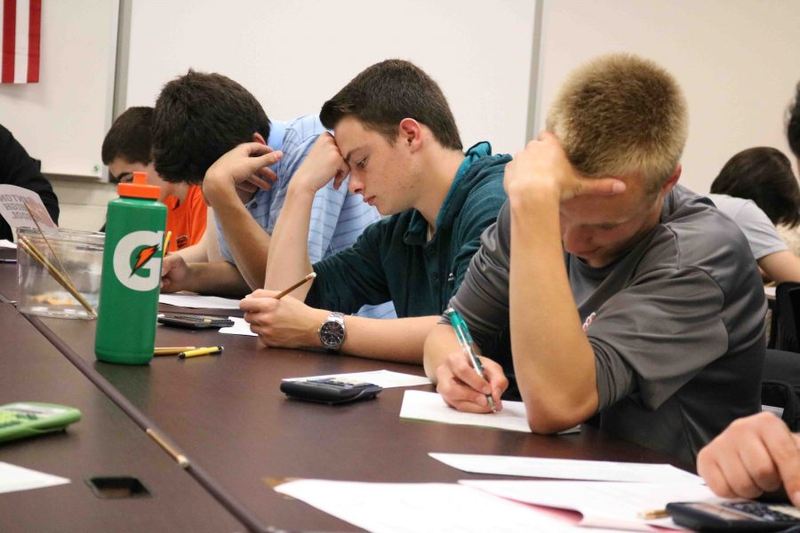 FHS team ties with Brandon for first at the 34th Annual FML Math and Science Competition