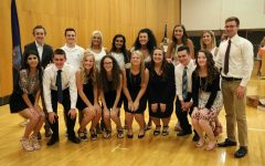 National Honor Society prepares for induction ceremony, April 26