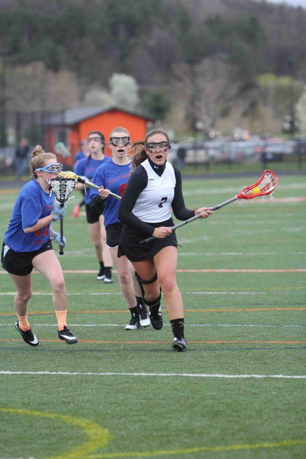 Fenton High School Girls varsity Lacrosse beats Oxford High School