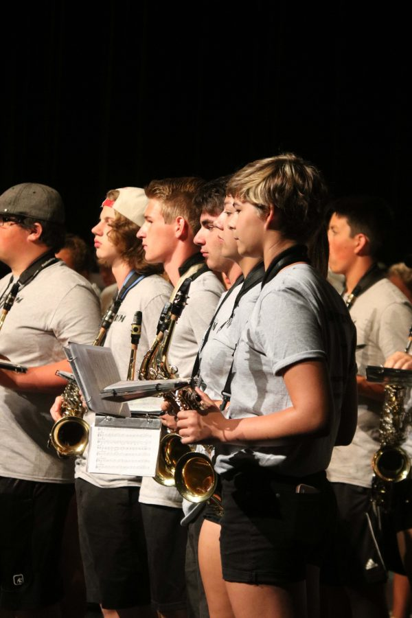 Saginaw Valley summer 2016 band camp