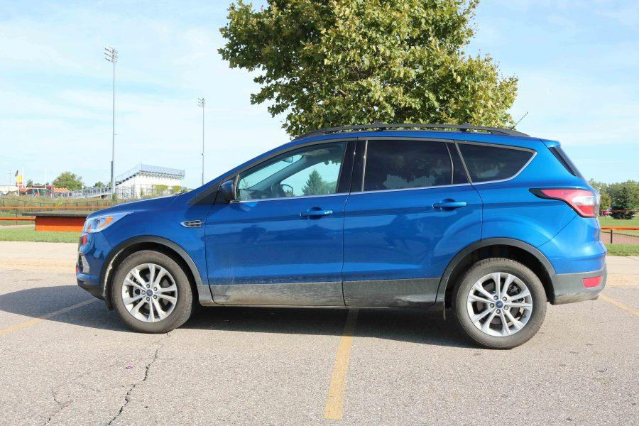 My dad works for Ford, and he gets three company leases every year. My only restriction was how much the lease was for every month, Lynch said. Parked as usual next other makes and models, Luke feels his car is nice, but does not like to compare it to the other cars of the lot.