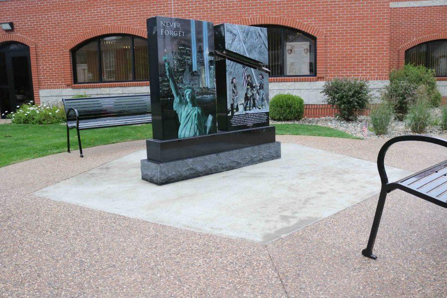 The City of Fenton builds a memorial dedicated to the lives lost on Sept. 11, 2001