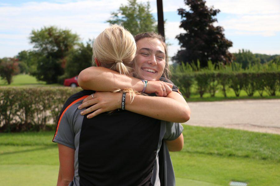 Girls golf defeats Linden at the Metro League Tournament