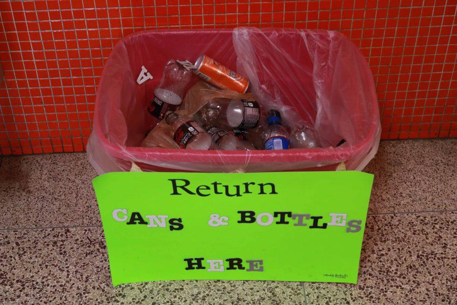 IB and Key Club members get school-wide support for bottle drive