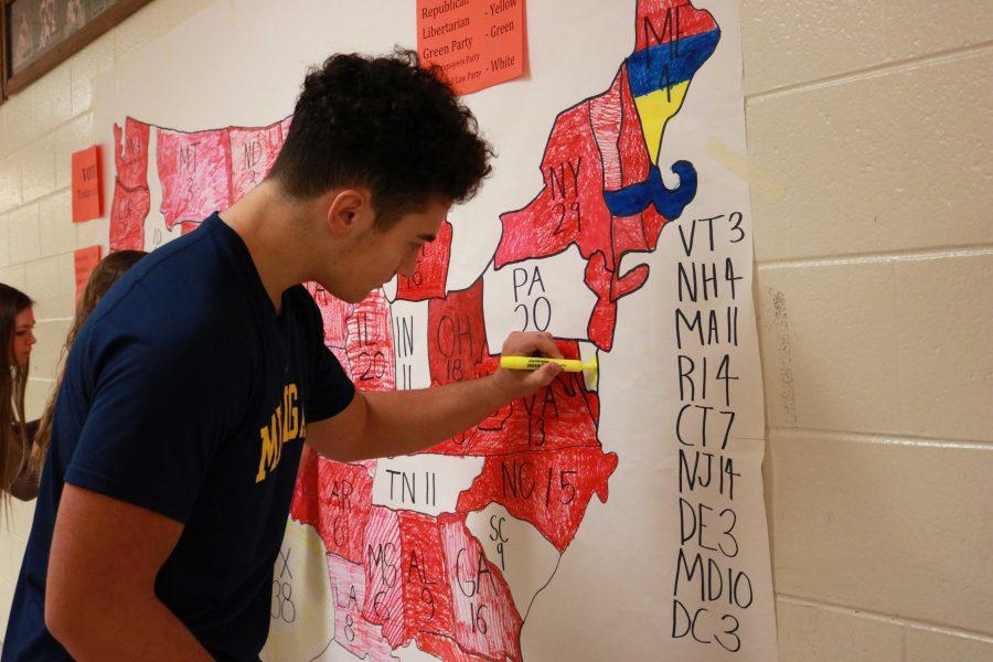 School-wide mock election held Nov. 7