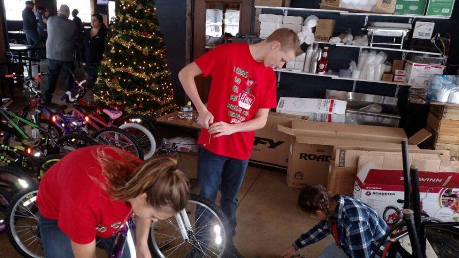 The Barn collects bikes for local foster children