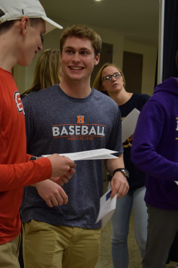 As the school year comes to an end, senior Jon Gillman signed to Hope College for baseball. Surrounded by his friends and family, Jon took in this memorable moment, as he cherished his last few months at Fenton High School.