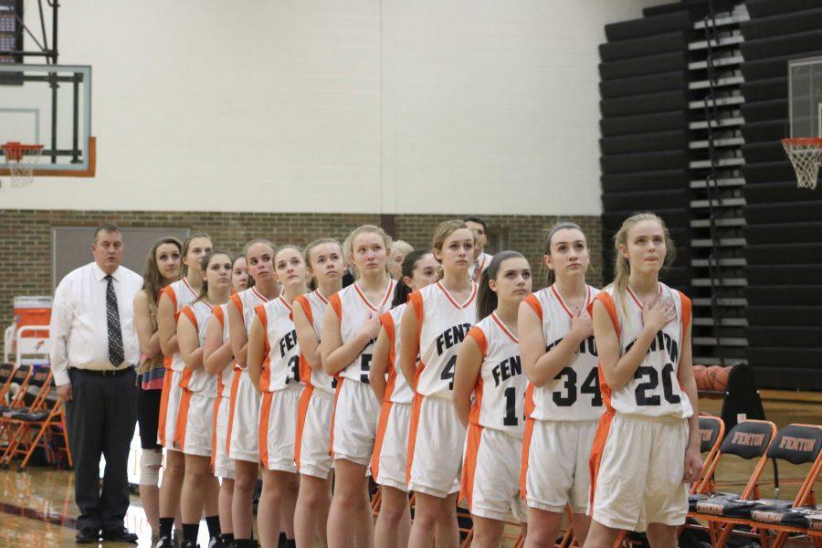 Freshman girls basketball fall to Powers Catholic, 45-26