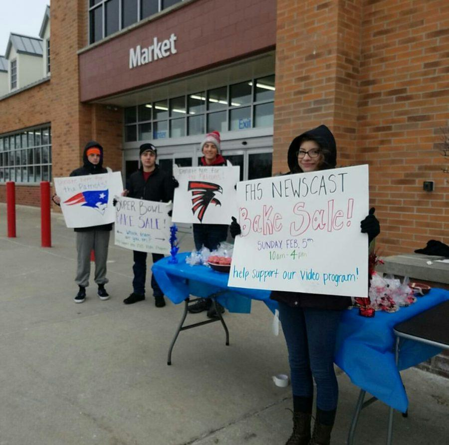 The Bake Sale took place Sunday, Feb. 4 at Walmart before the Super Bowl Game.