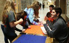 Boys and girls varsity basketball raises money for Coaches vs. Cancer game