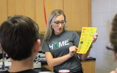 Mentor Training creates presentations against drug-use to the eighth grade