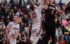 Boys varsity basketball beat Linden, 48-33