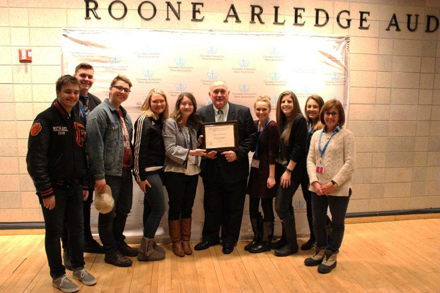 Fenton InPrint returns from CSPA with Silver Crown Award