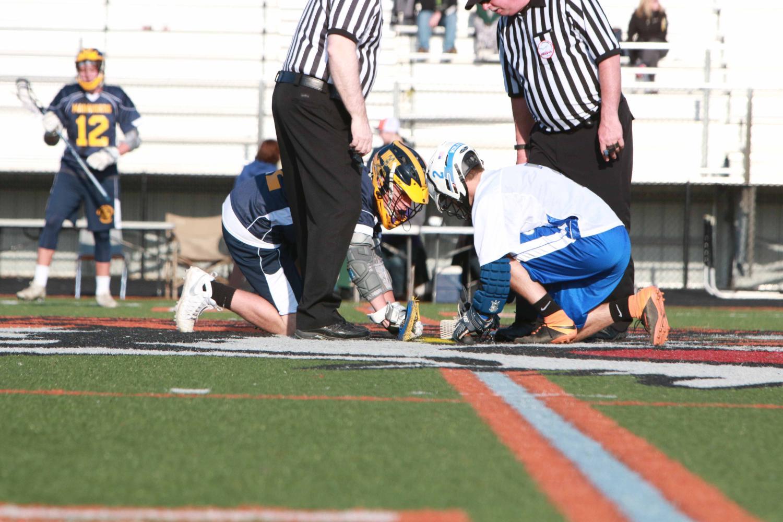 Fenton-Linden boys lacrosse beats Ovid Elsie