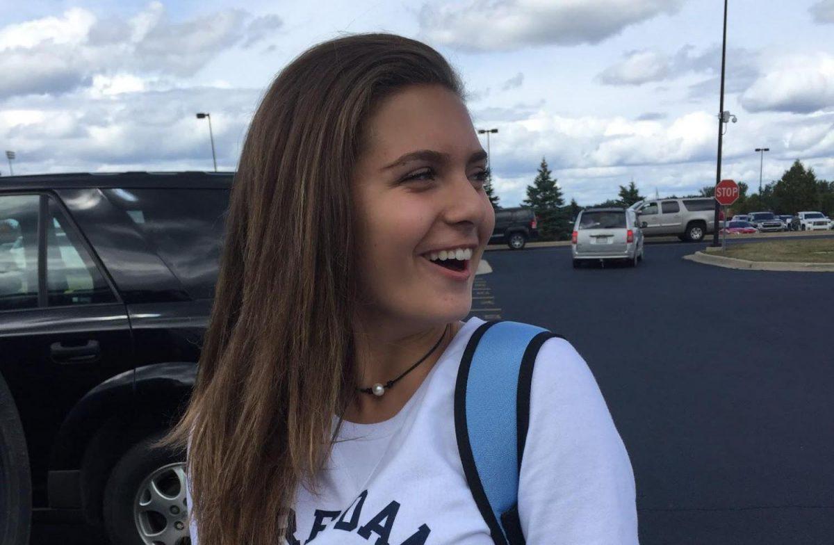 People of Fenton: Sophomore Maria Ebert
