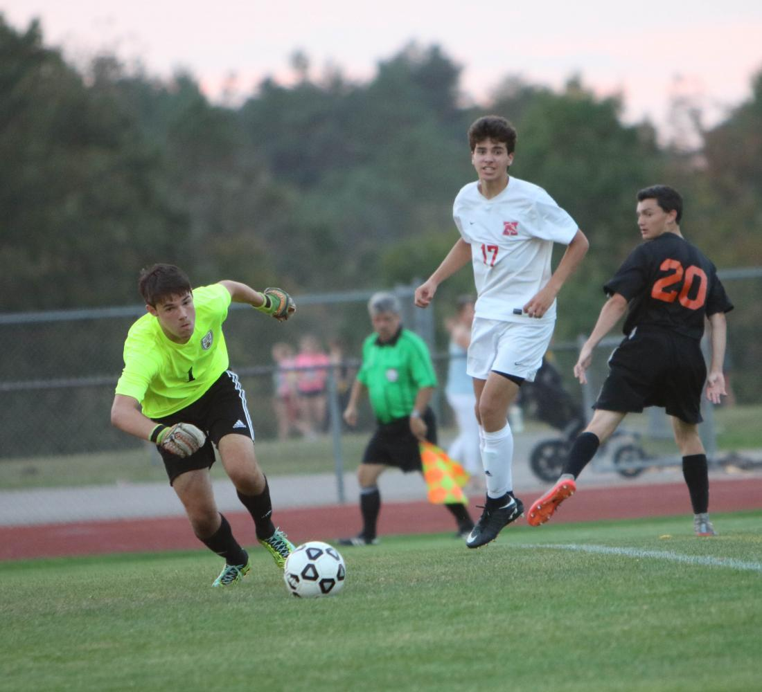 Varsity boys soccer falls behind last year's record