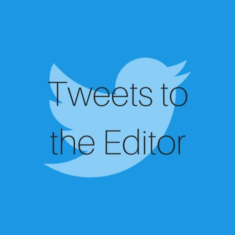 "Voice your opinion in new ""Tweets to the Editor"""
