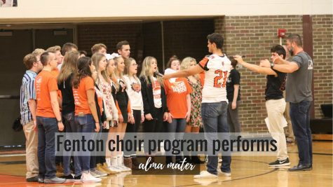 Fenton choir program preforms alma mater