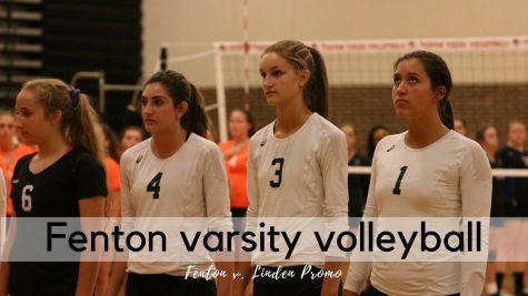 Varsity volleyball v. Linden promo