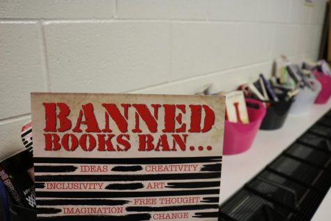 Banned Books Week awareness is mentioned in literature classrooms
