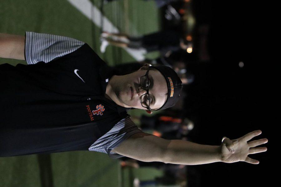 Fenton Varsity Football coach