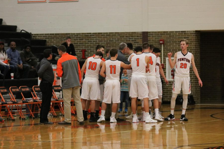 The boys played in a matchup against Swartz Creek on Friday Dec. 8. The game however ended in a loss with a score of 43-42.